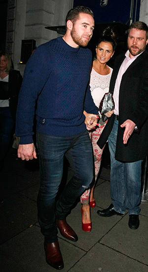 Katie Price at the Jazz Cafe, London, Britain - 14 Feb 2015