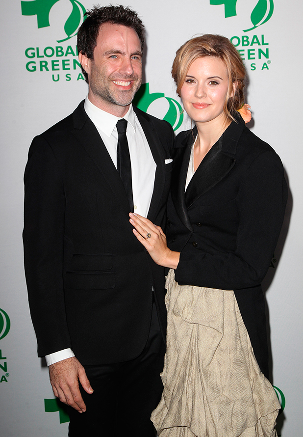 Maggie Grace and Matthew Goode, Global Green USA's 12th Annual Pre-Oscar Party at AVALON Hollywood, 18 February 2015