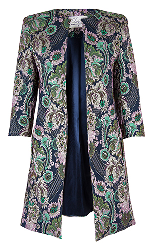 Cutout of closetclothing.co.uk floral jacquard jacket