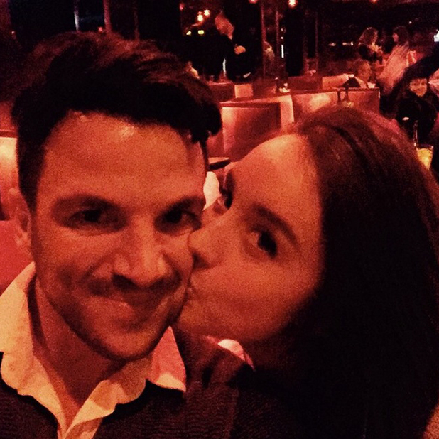 Peter Andre and Emily MacDonagh in Paris for Valentine's Day, February 2015