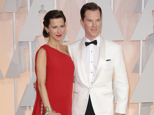 Benedict Cumberbatch and Sophie Hunter, 87th Academy Awards, Oscars, Arrivals, Los Angeles, America - 22 Feb 2015