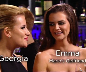 TOWIE episode 1, series 14, aired 22 February 2015: Georgia Kousloulou Emma McVey