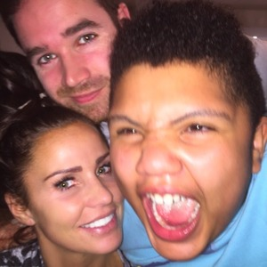 Katie Price shares pictures from her family album with fans, 27 February 2015