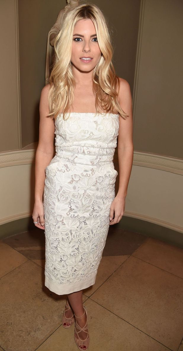 Mollie King at  British Fashion Council and BPI Creative London Event, 23/2/15