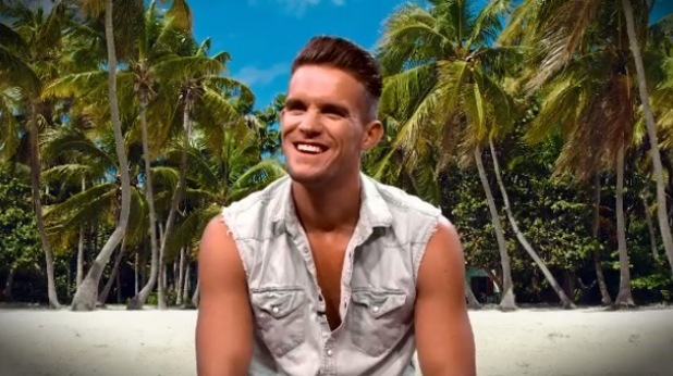 Gary Beadle talks about co-star Joe Chandler in behind-the-scenes video, Ex On The Beach, MTV 25 February