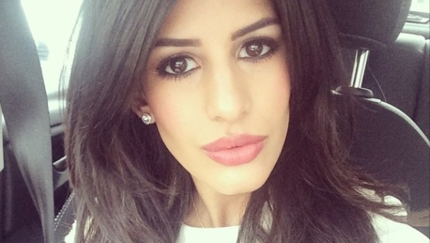Jasmin Walia close-up shot, 24/2/15