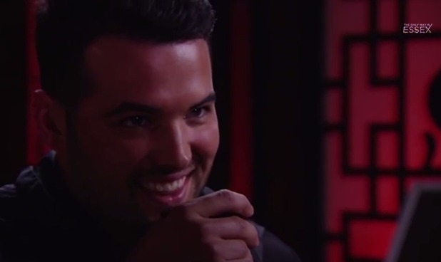 TOWIE's Ricky Rayment on episode to air 25 February 2015