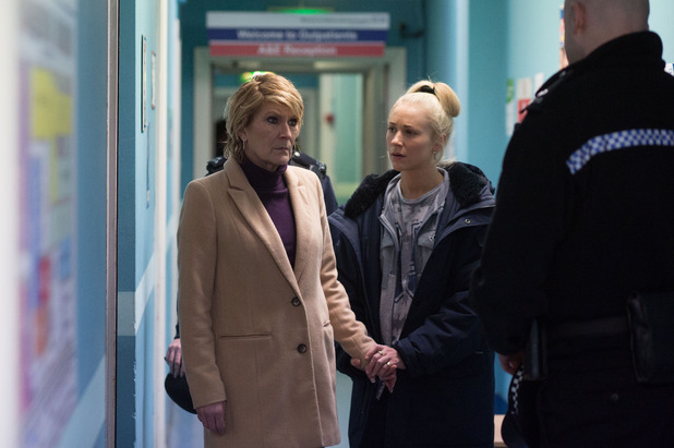EastEnders, Shirley at the hospital, Mon 2 Mar