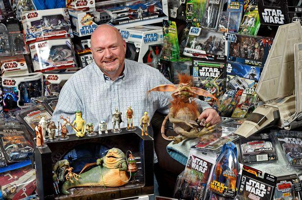 Star Wars superfan Dave Oldbury, 25/2/15