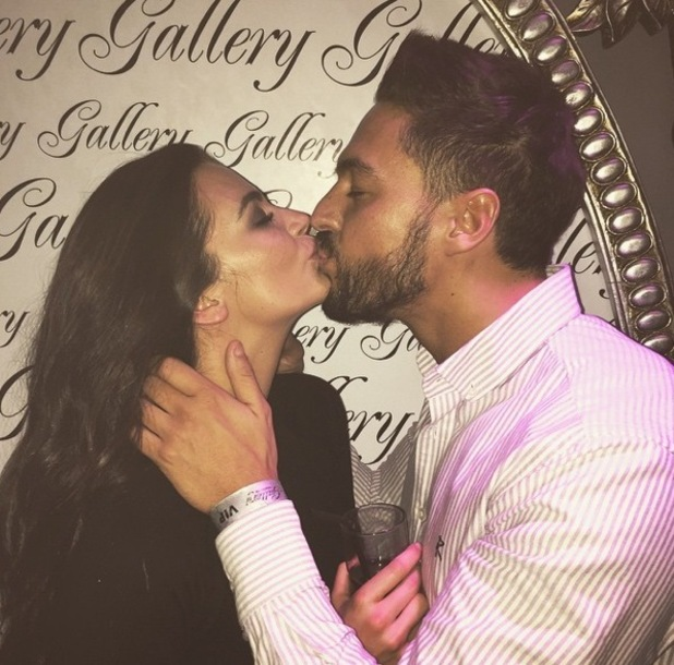 Mario Falcone shares picture of himself and girlfriend Emma McVey kissing, Instagram 22 February