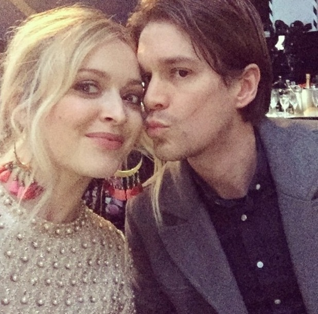 Fearne Cotton and husband Jesse Wood at the Brit Awards, Instagram 25 February
