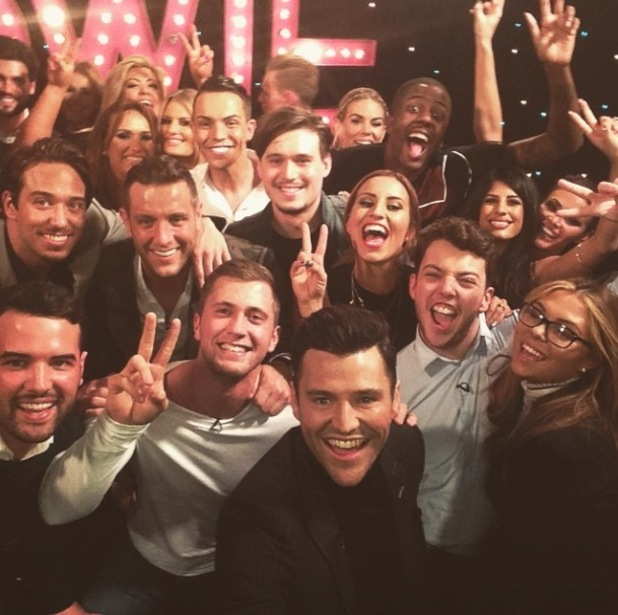 TOWIE cast join Mark Wright for TOWIE: All Back To Essex after show - 23 Feb 2015