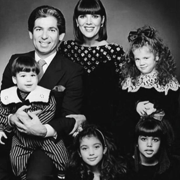 Kourtney Kardashian pays tribute to her late-father Robert on his birthday - 23 Feb 2015