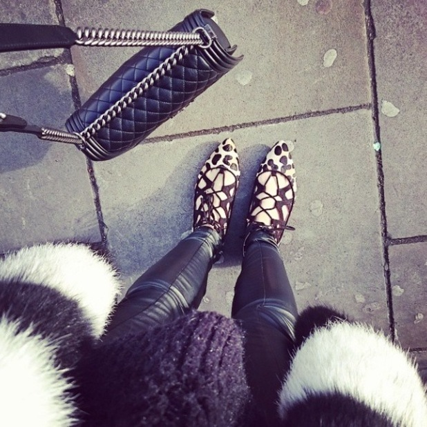 Rosie Fortescue's Office shoes, Instagram, 24/2/15