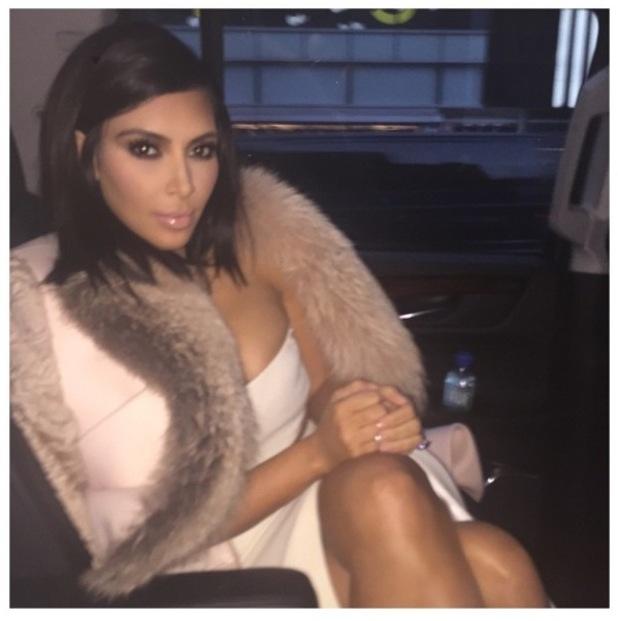 Kim Kardashian Instagram shot, 10/2/15