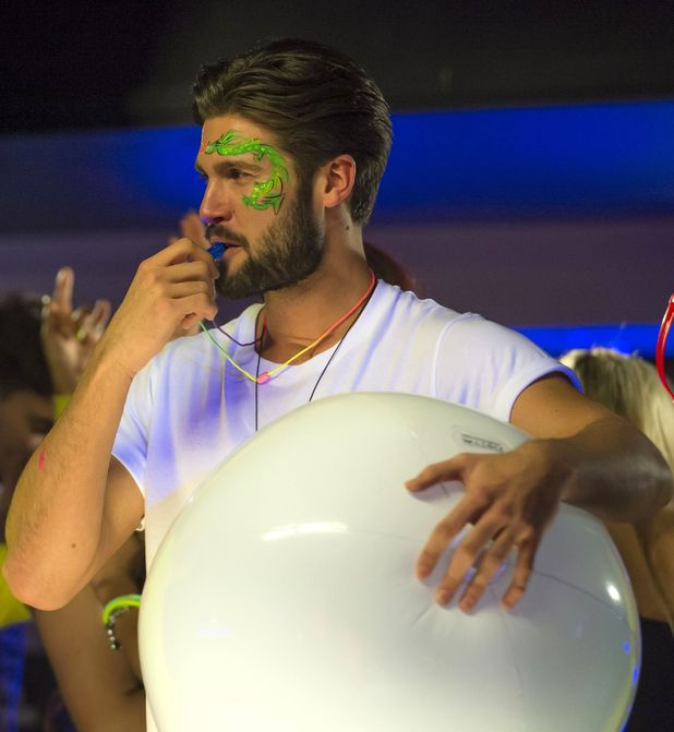 'The Only Way is Essex' cast filming, Chelmsford, Essex - Full Moon Party party gets under way. 25 Feb 2015