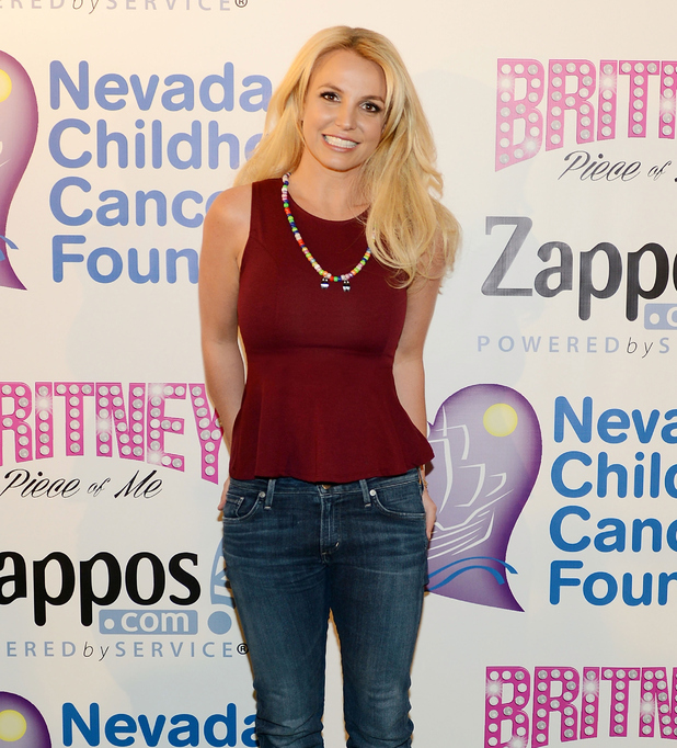 Britney Spears and Zappos Partner With Nevada Childhood Cancer Foundation - 26/2/2015 Las Vegas, Nevada, United States.