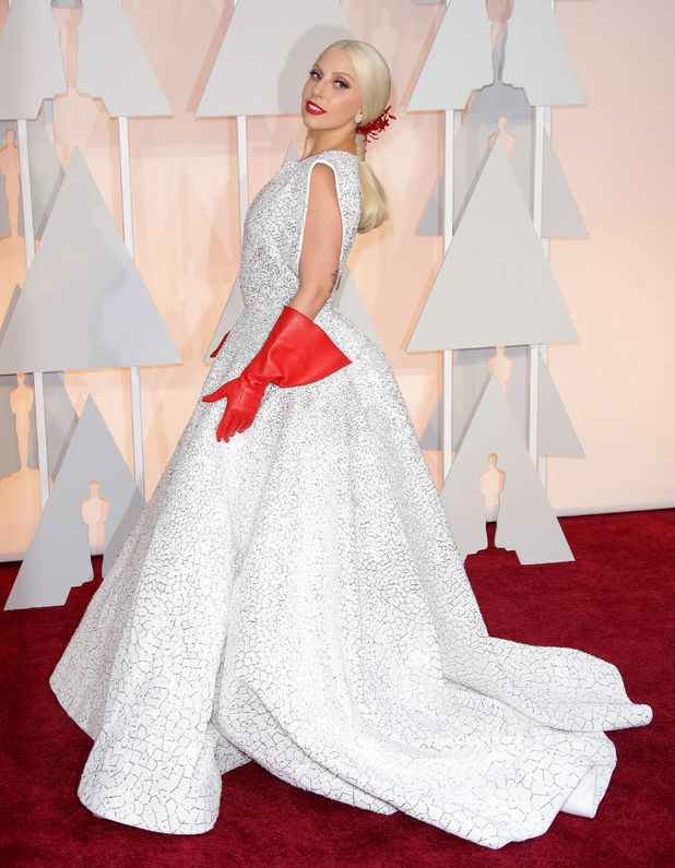 Lady Gaga, 87th Academy Awards, Oscars, Arrivals, Los Angeles, America - 22 Feb 2015