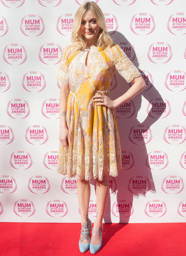 Fearne Cotton arrives at the Tesco Mum of the Year Awards 2015 held at The Savoy, 1 March 2015