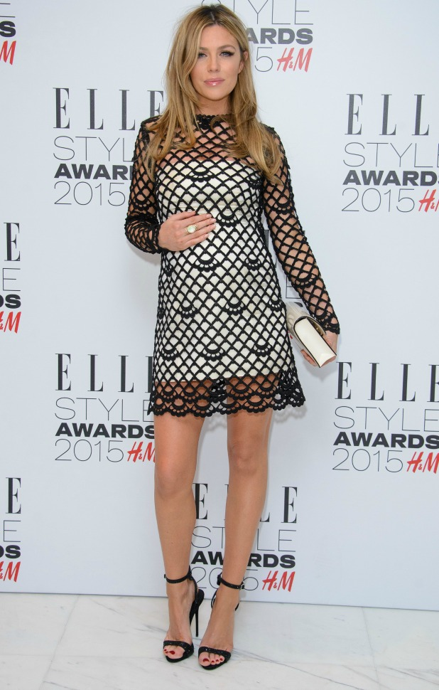 Abbey Clancy, The ELLE Style Awards 2015 held at the Walkie Talkie Building - Arrivals, 24 February 2-15