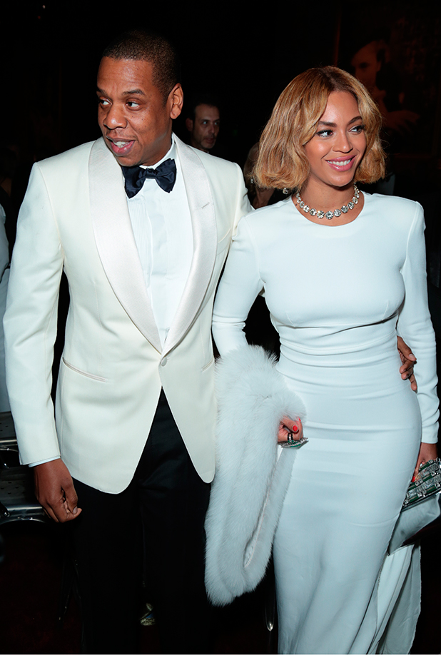 Beyonce attends the 2015 Vanity Fair Oscar Party hosted by Graydon Carter at Wallis Annenberg Center for the Performing Arts on February 22, 2015 in Beverly Hills, California.