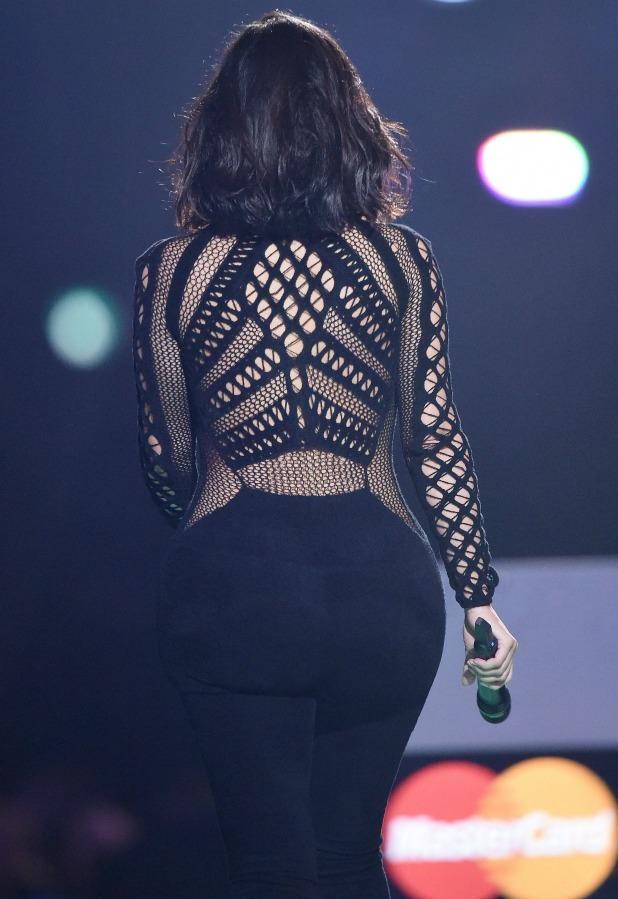 The Brit Awards, Show, O2 Arena, London, Britain - 25 Feb 2015 Kim Kardashian West