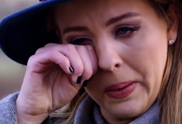 TOWIE: Lydia Bright cries as she talks about Argent, 25 February episode