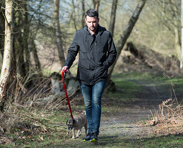 TOWIE filming at Weald Park, Essex, Britain - 24 Feb 2015 Ricky Rayment
