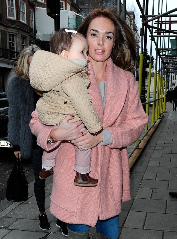 Tamara Ecclestone and Petra Ecclestone take daughters Sophia and Lavinia to 'C' restaurant in Mayfair for a posh lunch, 22 February 2015