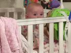 Katie Price shares cute picture of baby daughter Bunny in cot