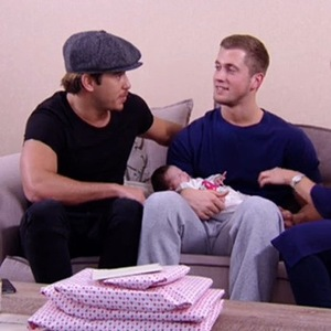 Dan Osborne cradles baby Ella as she makes TOWIE debut - 1 March 2015