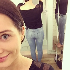 Helen Flanagan buys new pair of jeans, Instagram 25 February