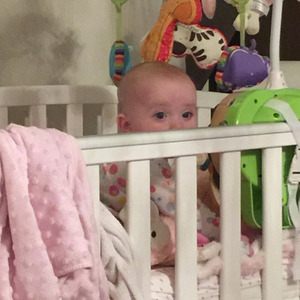Katie Price shares photo of baby daughter Bunny, 2 March 2015