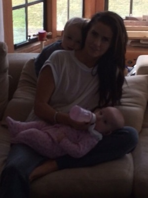 Katie Price shares more family photos - 4 March 2015 - Bunny and Jett