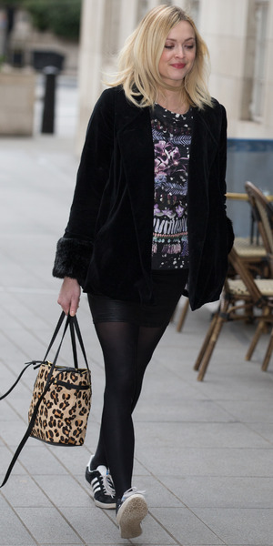 Fearne Cotton arrives for work at Radio 1 - 3 March 2015