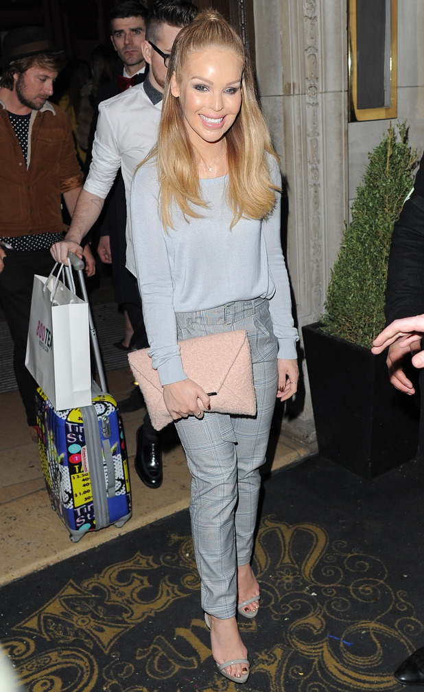 Katie Piper at Steam & Rye in London, 2 March 2015