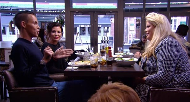 Bobby Norris and Gemma Collins discuss psychic reading, TOWIE episode 3, ITVBe 1 March