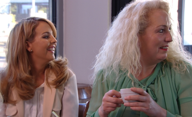 TOWIE preview: Lydia Bright meets up with Debbie Douglas for coffee and they see Arg - 8 March 2015