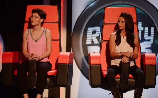Emma Willis and Katie Price appear on Reality Bites - 5 March 2015