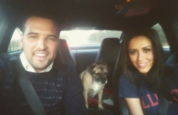 TOWIE's Ricky Rayment goes on a road trip with Geordie Shore girlfriend Marnie Simpson - 2 March 2015