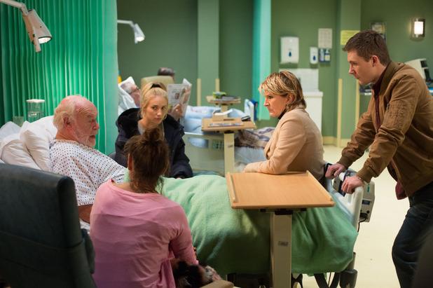 EastEnders, Stan in hospital, Mon 16 Mar