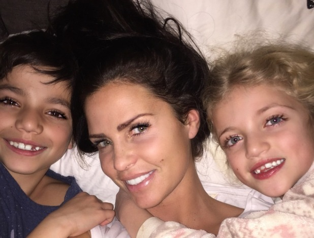 Katie Price shares more family photos - 4 March 2015 - Princess and Junior