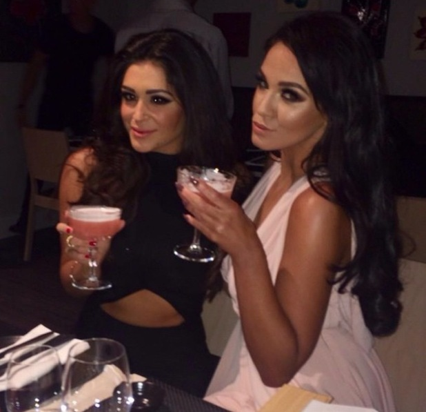 Vicky Pattison and Casey Batchelor out in Manchester, Instagram 5 March