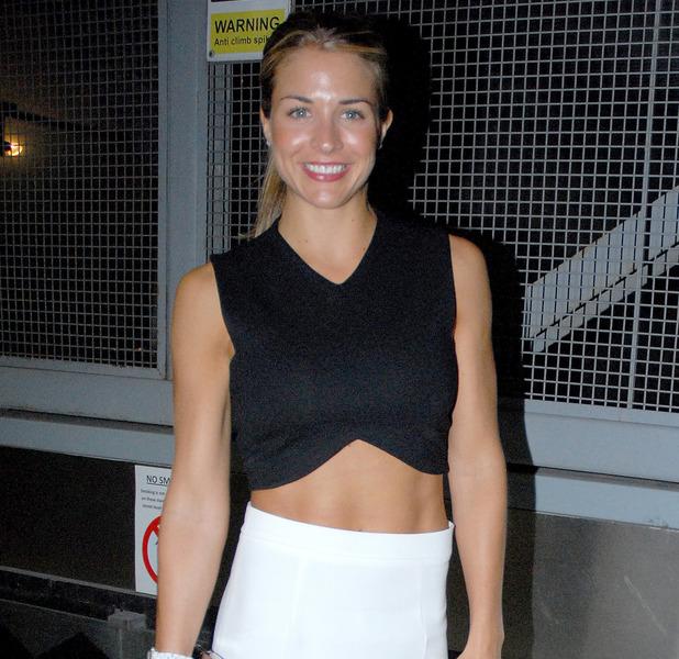 UFC celebrates its launch on BT Sport at Paramount bar - Gemma Atkinson attends