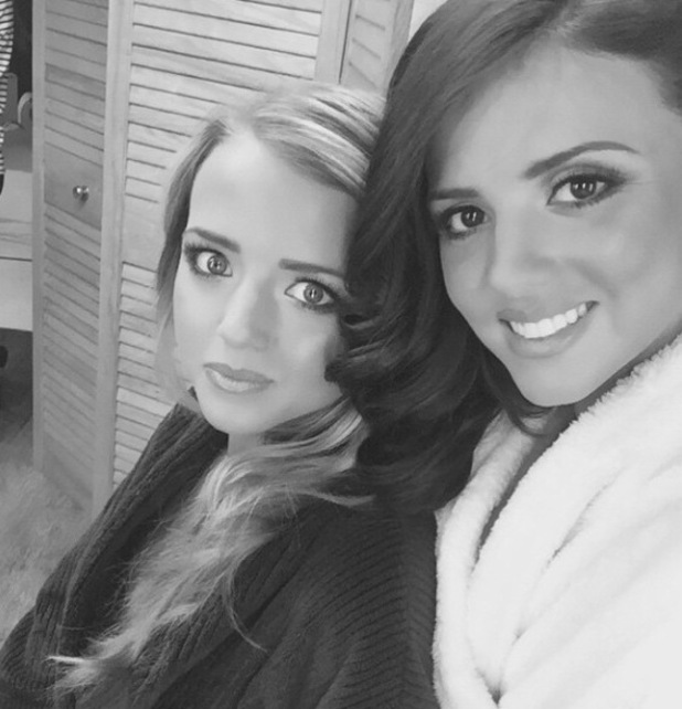 Lucy Mecklenburgh joined by sister Lydia on new beauty photo shoot - 3 March 2015