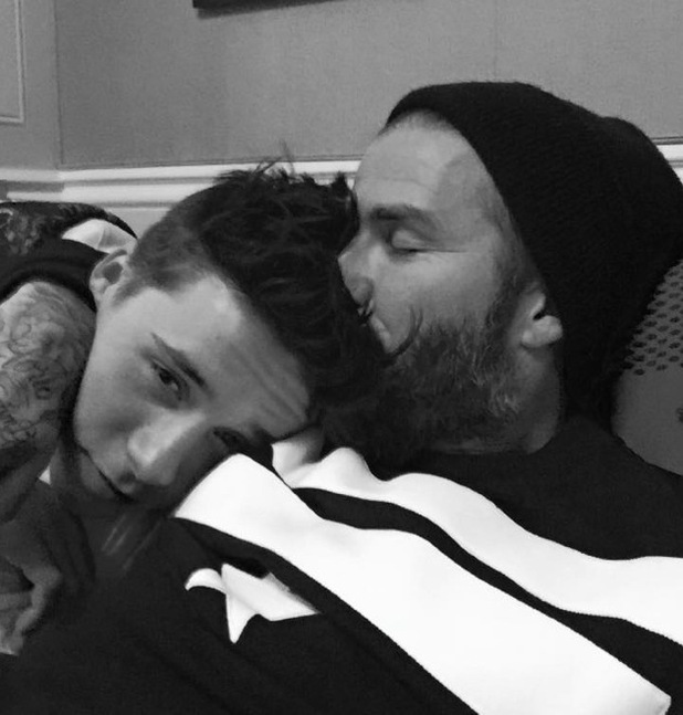 David Beckham wishes son Brooklyn happy birthday with family photo, Facebook 4 March