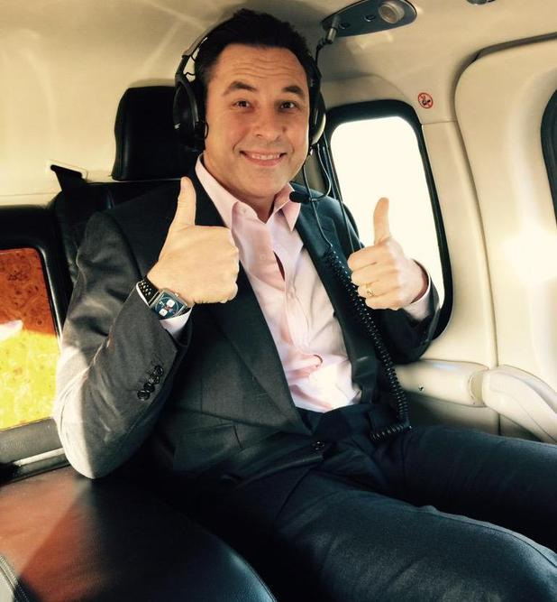 David Walliams on World Book Day tour - 5 March 2015