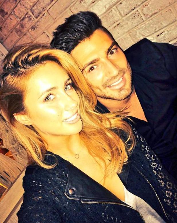 Jake Quickenden enjoys dinner with Carl Fogarty's daughter Danielle - 5 March 2015.