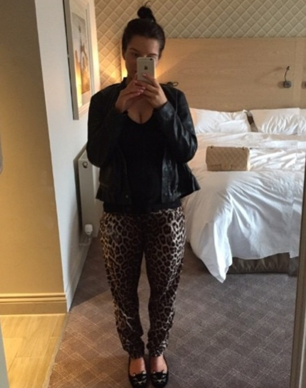 Helen Flanagan reveals she can't wear jeans, Instagram 6 March