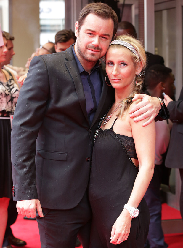 """Danny Dyer and Joanne Mas at The UK Premiere of """"The Hooligan Factory"""" at the Odeon West End - 9 June 2014"""